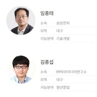 창조경제혁신센터 멘토 선정