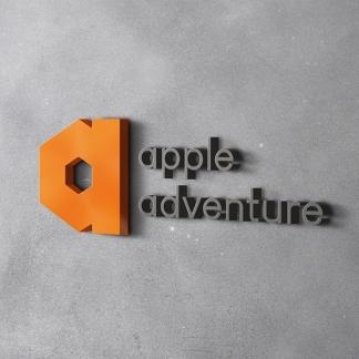 애플애드벤처 NEW CI 개발